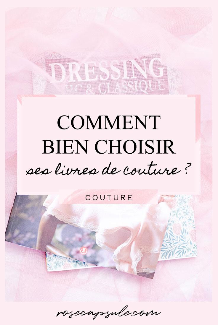 Comment bien choisir ses livres de couture ?