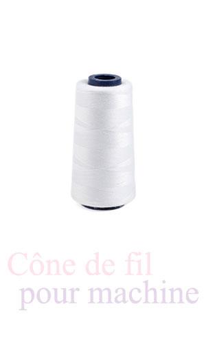 Cone de fil pour machine