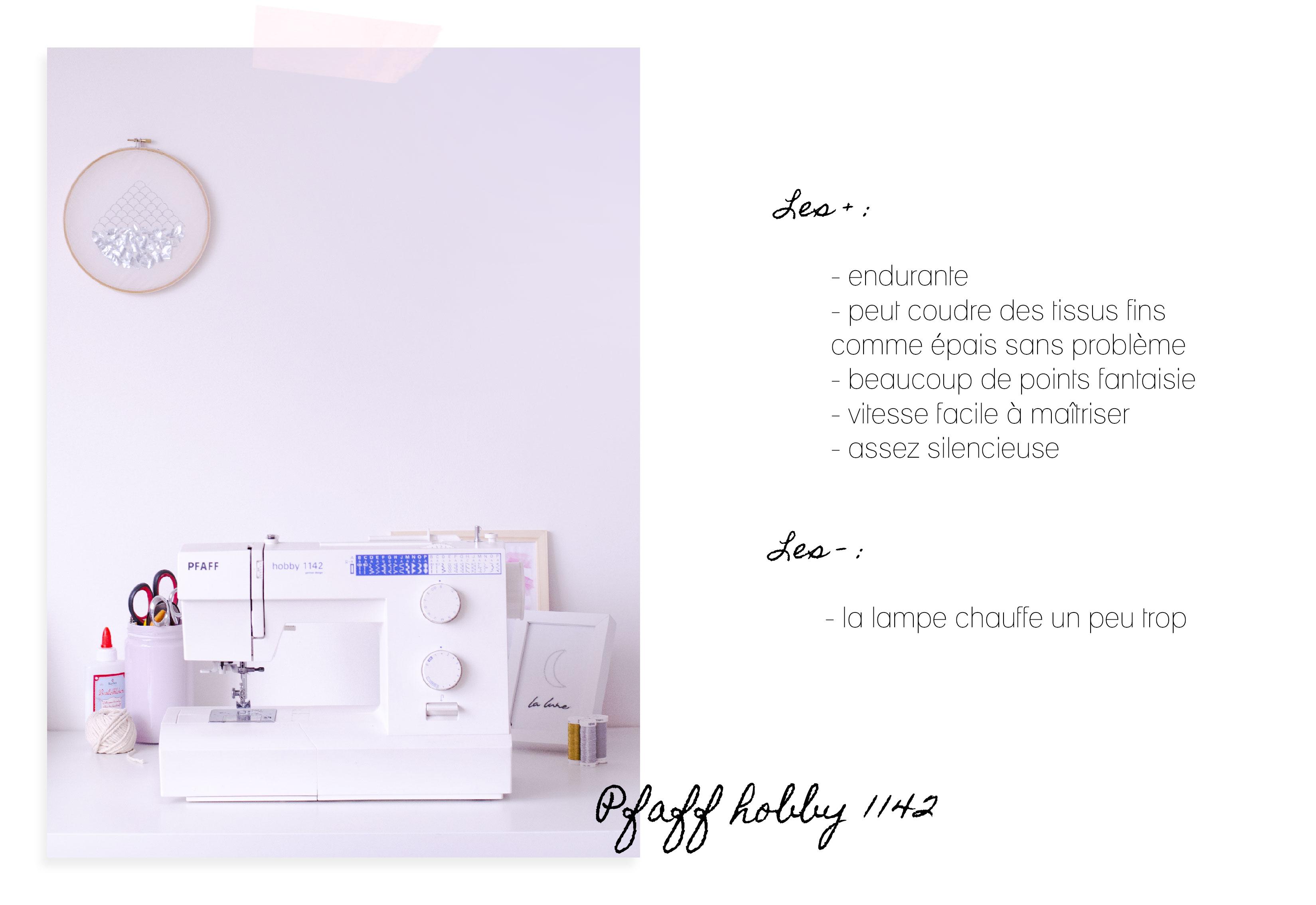 Machine à coudre : Pfaff Hobby 1142