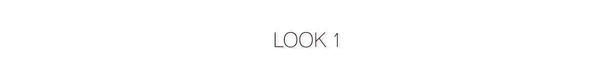 Look 1 - Comment s'habiller pour les fêtes ?
