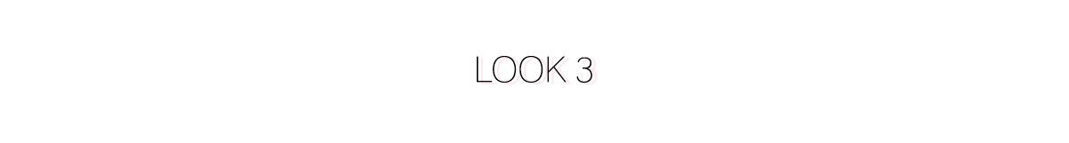 Look 3 - Comment s'habiller pour les fêtes ?
