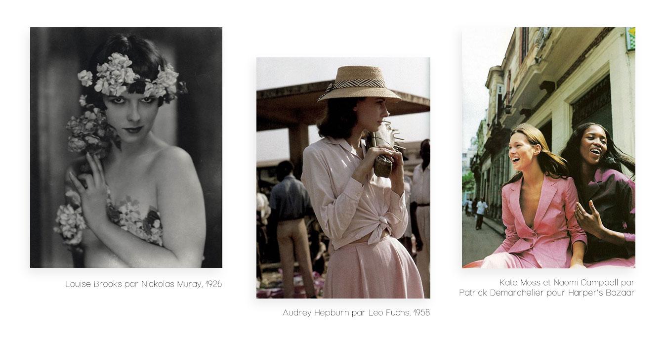 Pourquoi le vintage est-il à la mode ? - Audrey Hepburn, Louise Brooks, Kate Moss, Naomi Campbell
