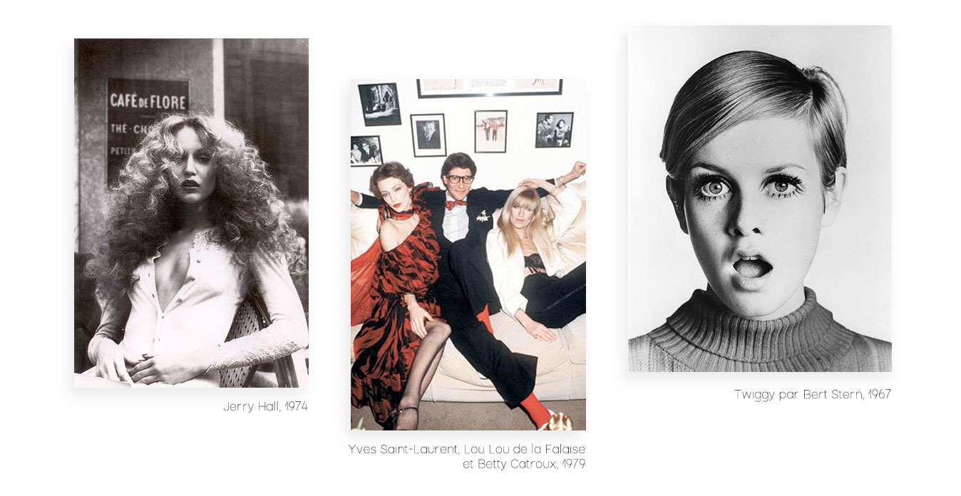 Pourquoi le vintage est-il à la mode ? - Jerry Hall, YSL, Louise de la Falaise, Betty Catroux, Twiggy