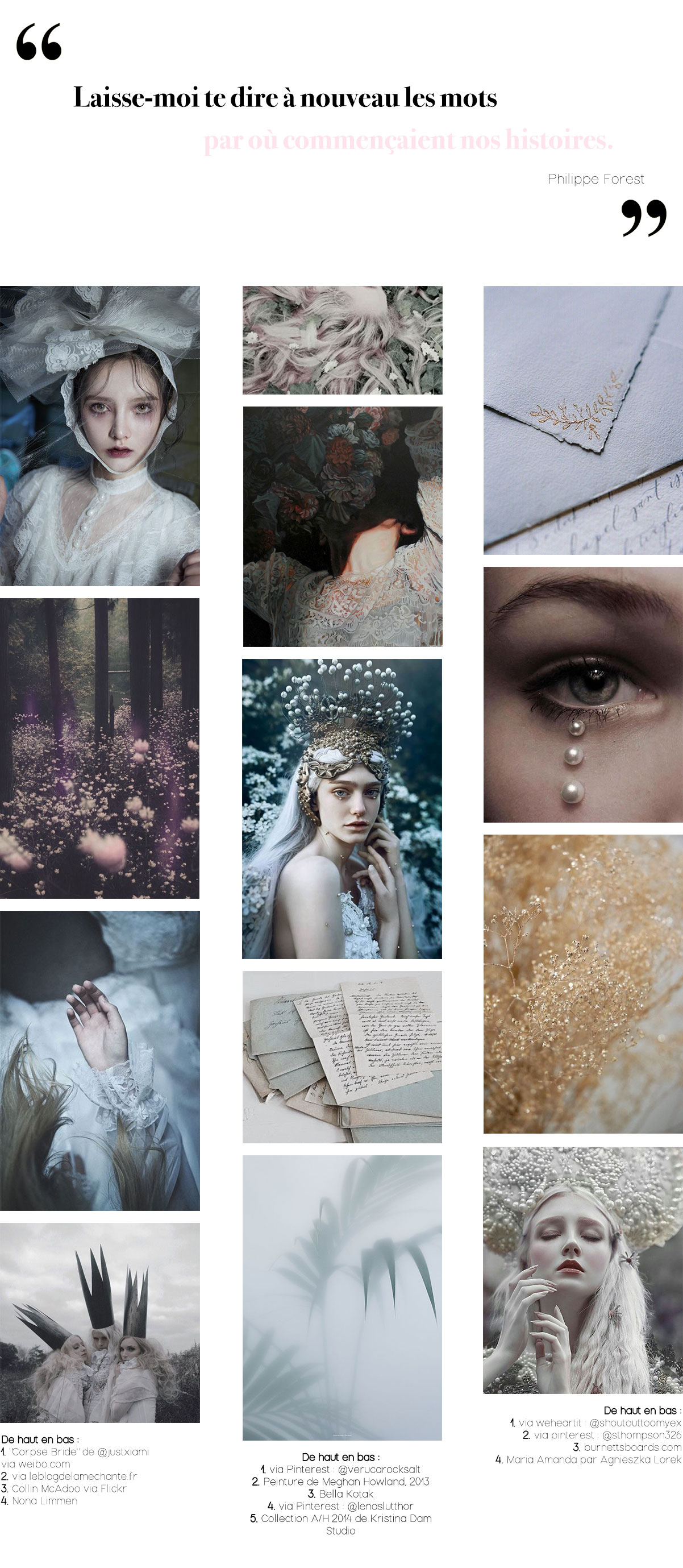Inspirations Pinterest #10 : Histoires Imaginaires