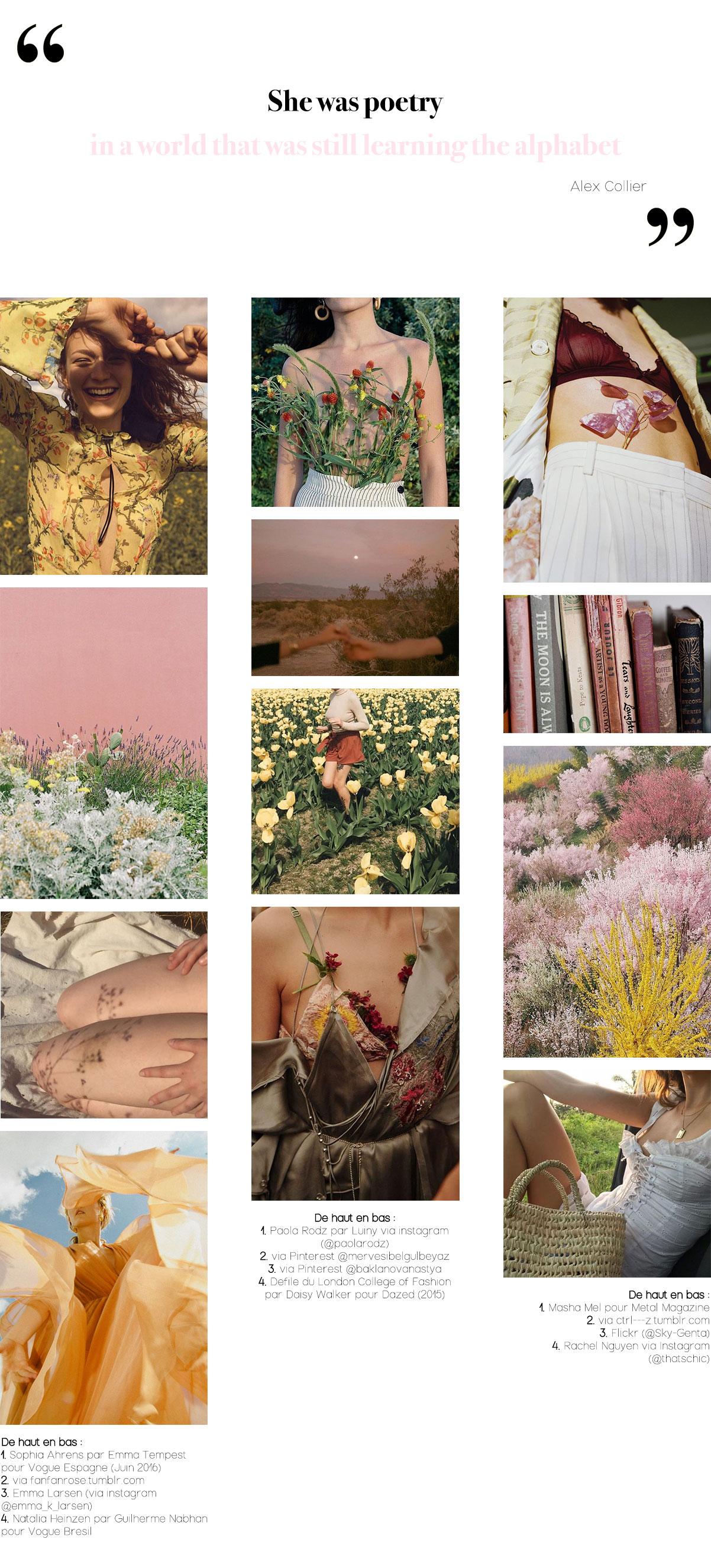 Moodboard / Inspirations Pinterest 12 : La vie de bohème