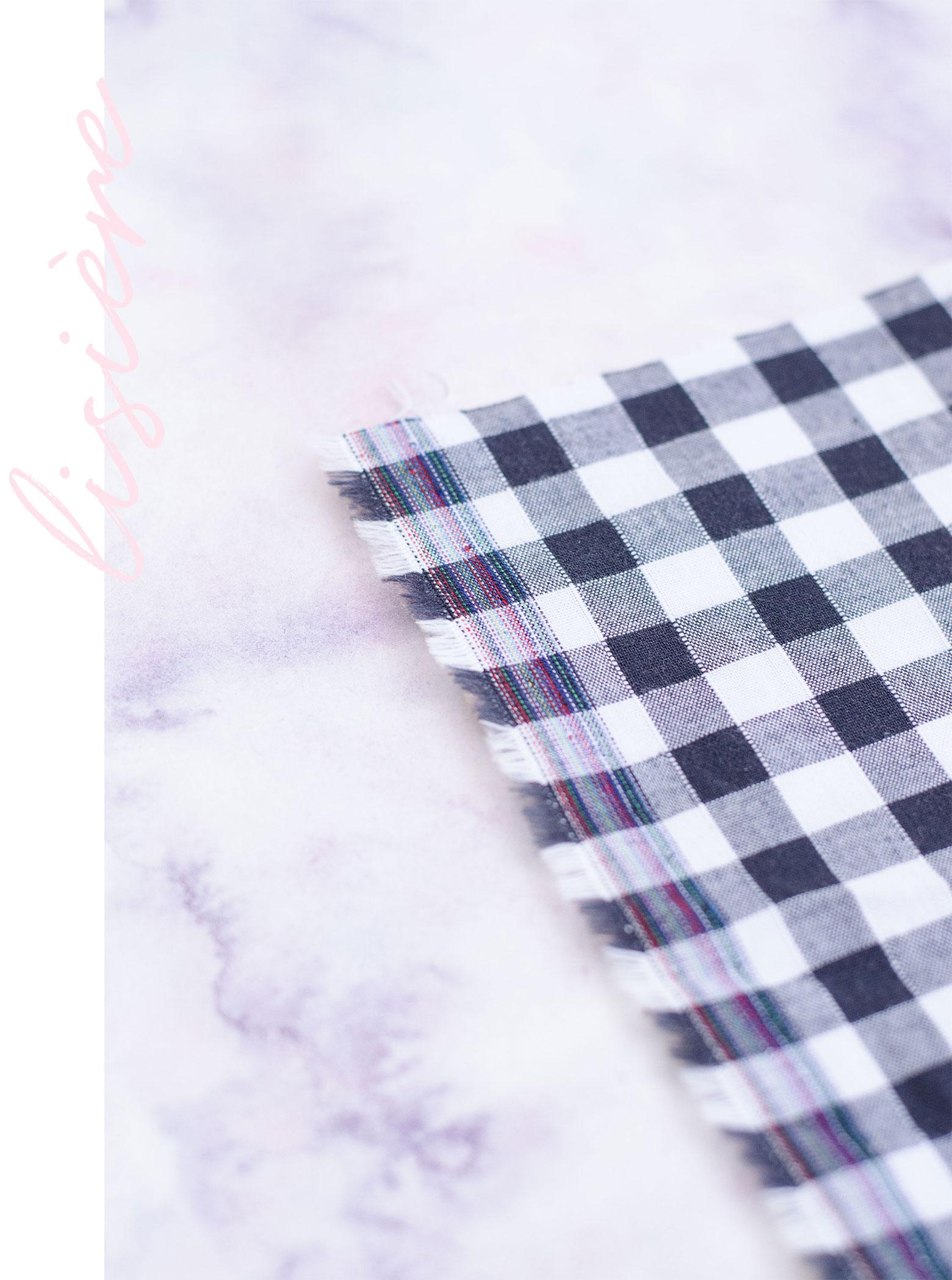 Le lexique complet de la couture : Lisière