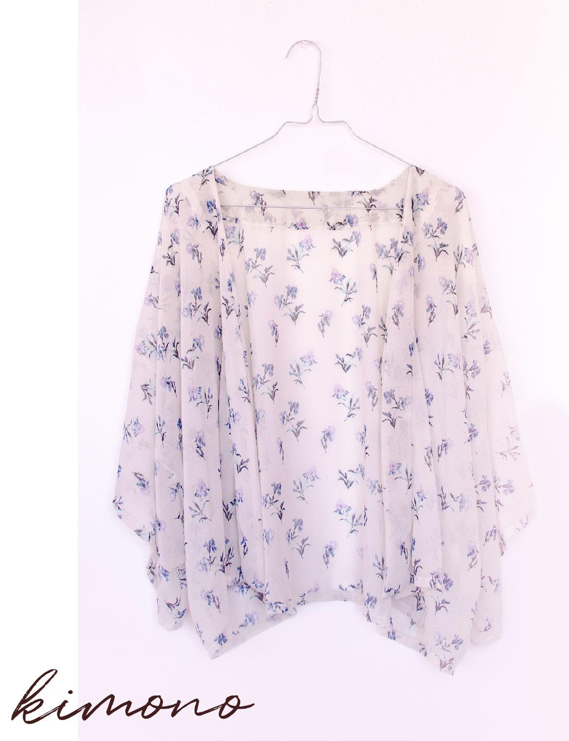 Kimono - 5 idées de projet couture pour débutant
