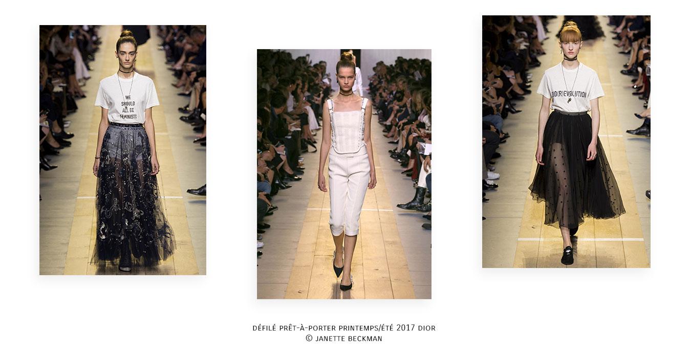 Défilé Prêt-à-porter Printemps-été 2017 Dior