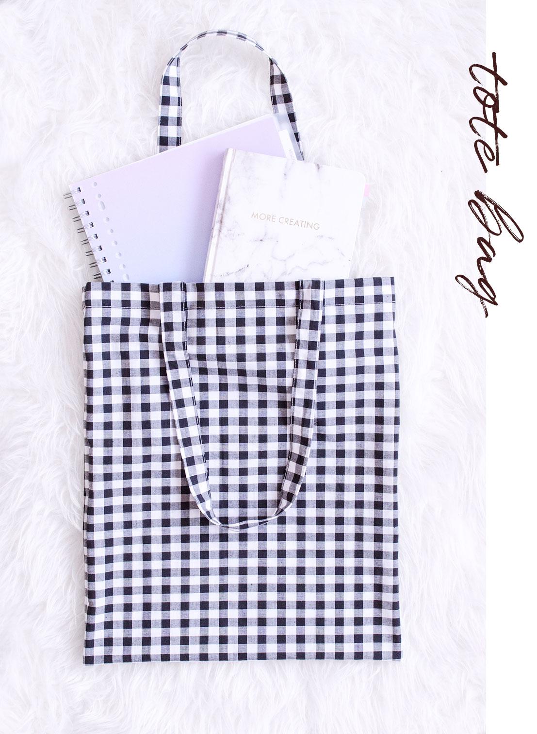 Tote bag - 5 idées de projet couture pour débutant