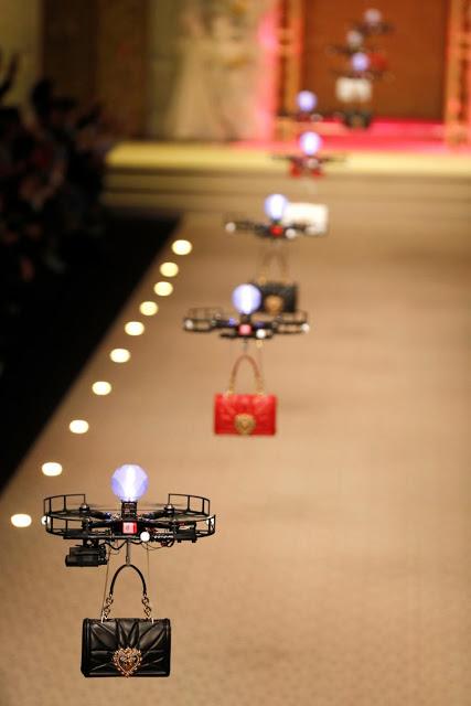 Les drones de Dolce & Gabbana