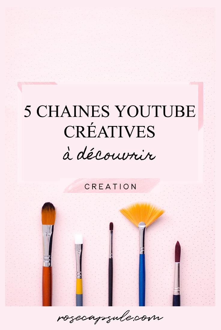 5 chaines youtube créatives et inspirantes à découvrir