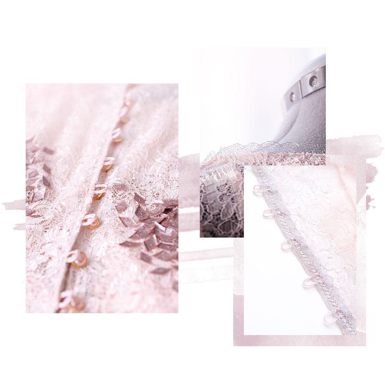 Un mois, une création : La robe sirène