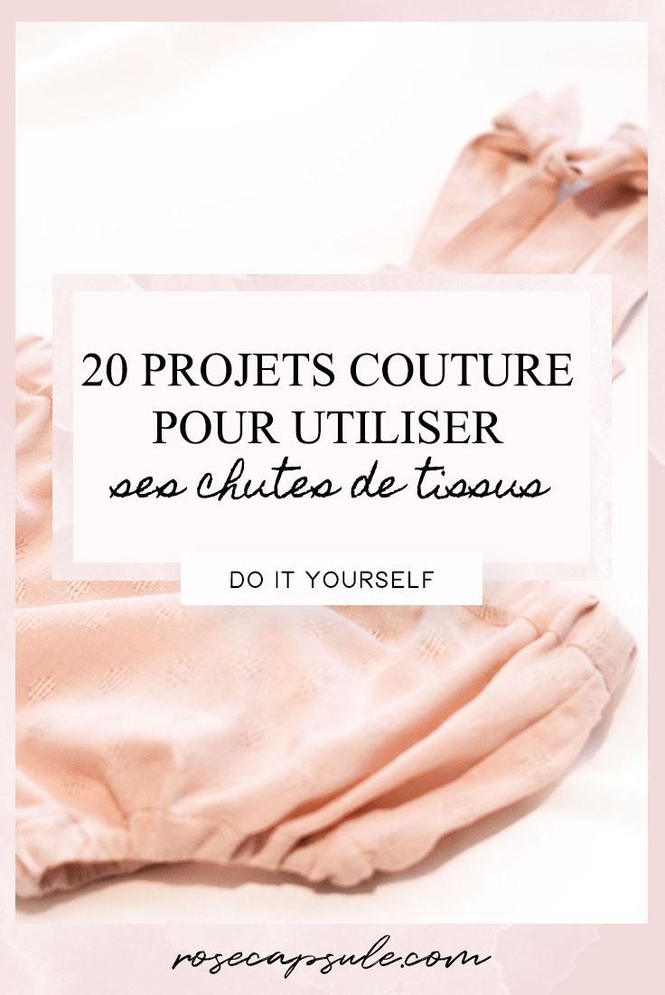 20 projets couture pour utiliser ses chutes de tissus