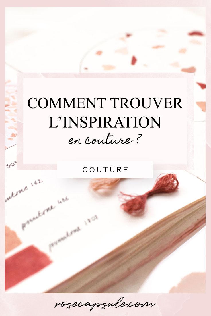 Où et comment trouver l'inspiration en couture ?