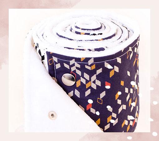 DIY zéro déchet : Comment coudre des essuies-tout lavables ?