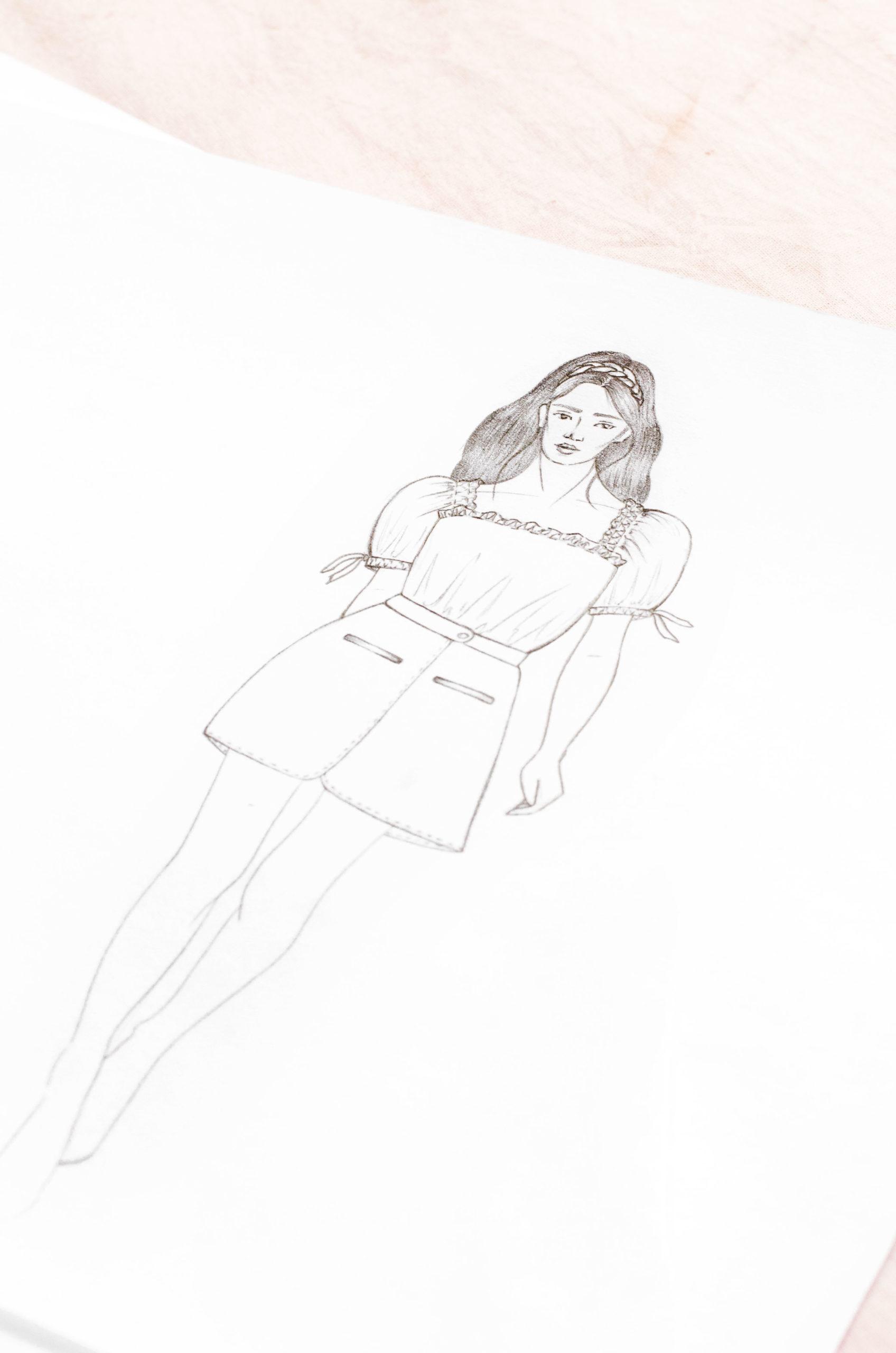 Comment trouver son propre style de croquis de mode ?