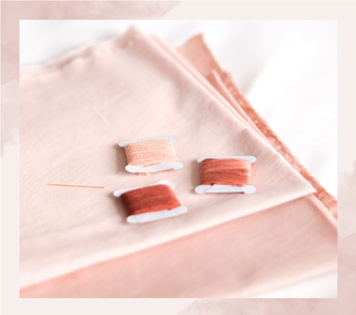 3 méthodes pour reporter un modèle de broderie sur un tissu